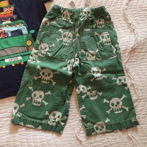 Mini Boden Matching Sets - mini Boden Size 7-8Y Tiger Shirt Skull 8Y Shorts